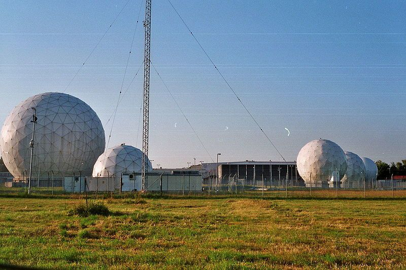 German intelligence cooperates closely with the NSA in Bad Aibling.photo Dr. Johannes W. Dietrich
