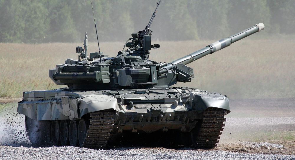 T-80 MBT - photo Anton Denisov / Sputnik