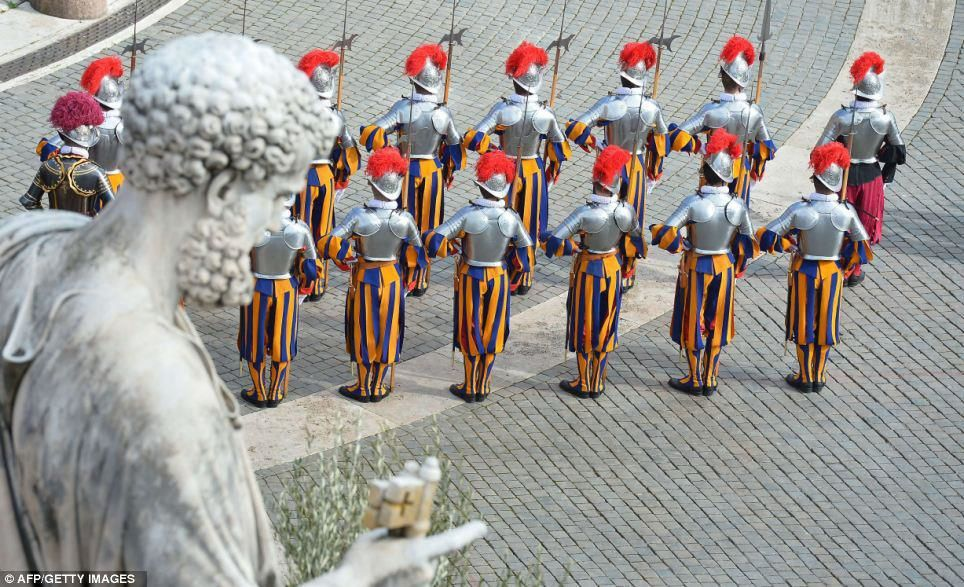photo Guardia Svizzera Pontificia
