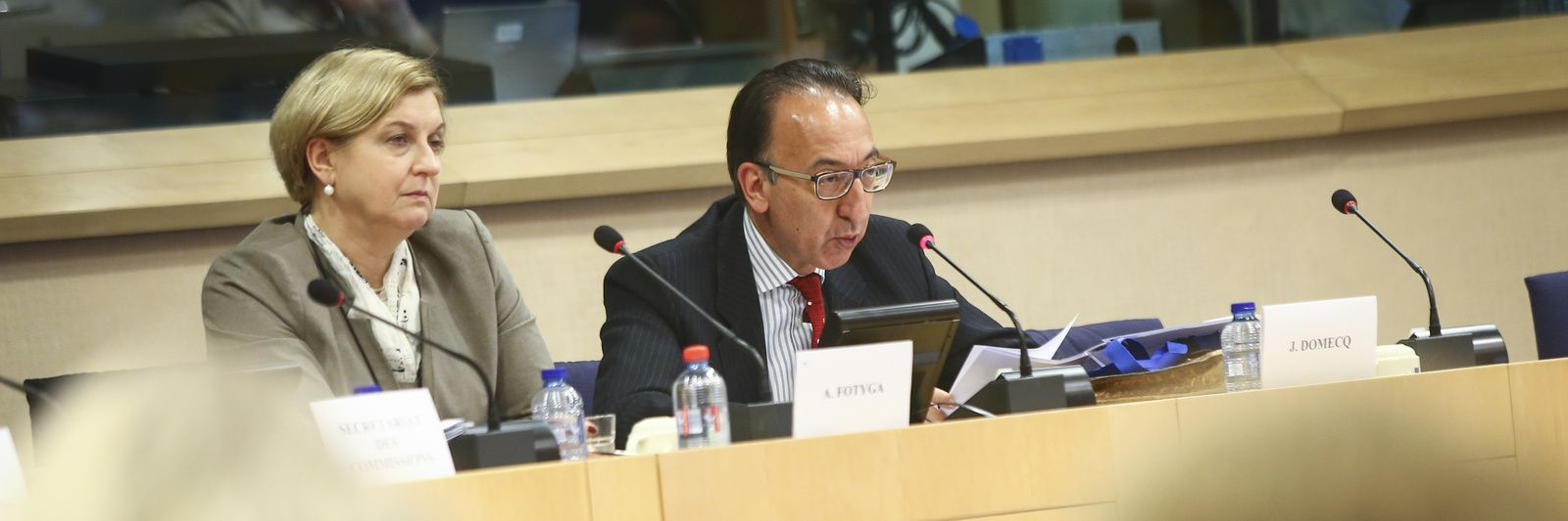 EDA Chief Executive briefs European Parliament