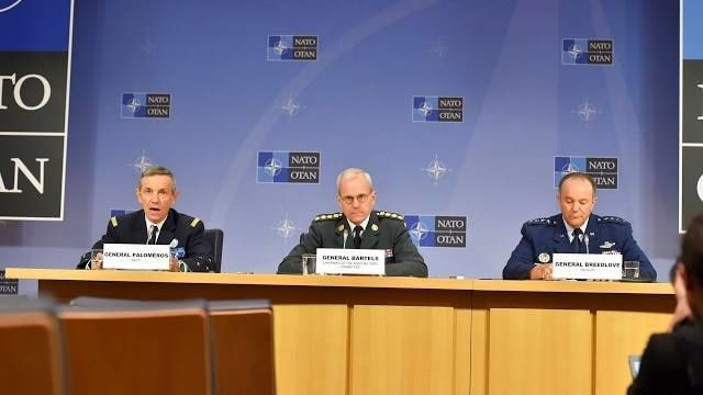 Joint Press Conference - NATO Chiefs of Defence Meeting - 2015 MAR 21