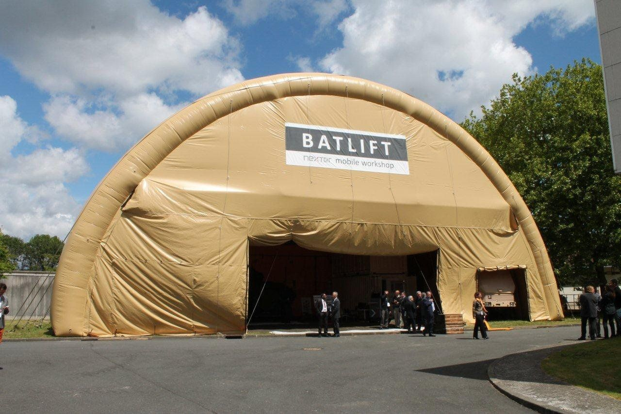 L'atelier projetable BATLIFT au FED 2015 - photo FOB