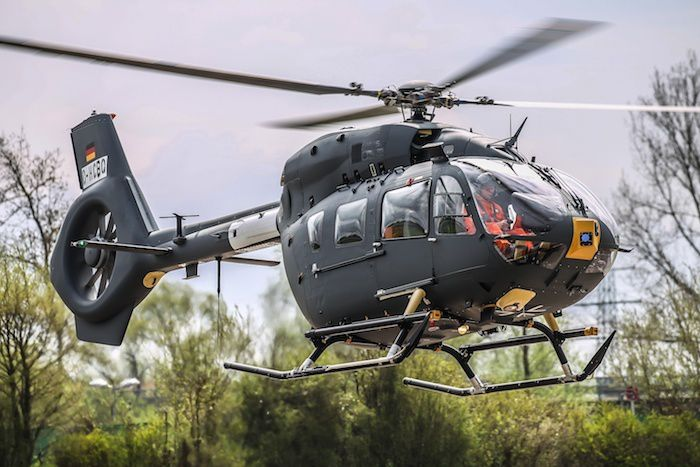 Airbus Helicopters assurera le soutien des H145M de la Bundeswehr