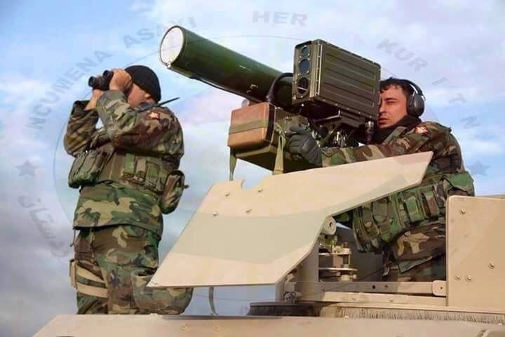 Armor: China Unofficially Arms The Kurds