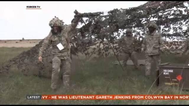 26 Regiment Gunners Prepare For New NATO Role