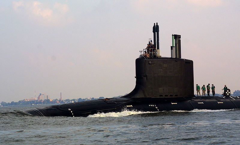 USS Virginia (SSN-774) - photo US Navy
