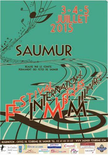 Le Festival de musiques militaires de Saumur, c'est du 3 au 5 juillet