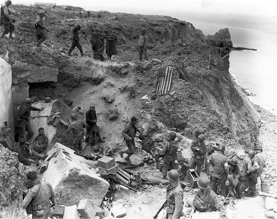 Pointe Du Hoc D-Day +2
