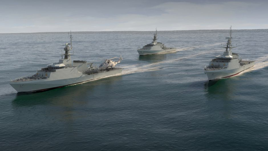 Full speed ahead for the River Class OPV programme