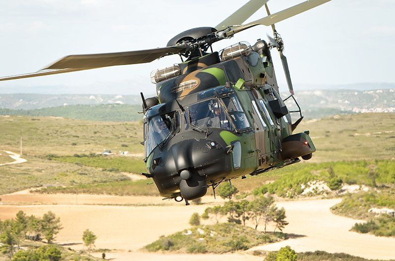 NH90 TTH (Tactical Transport Helicopter) Caïman