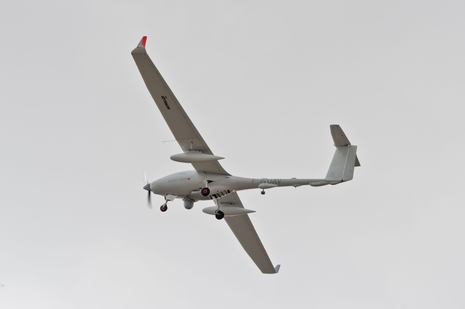 Drone tactique Patroller - photo Sagem