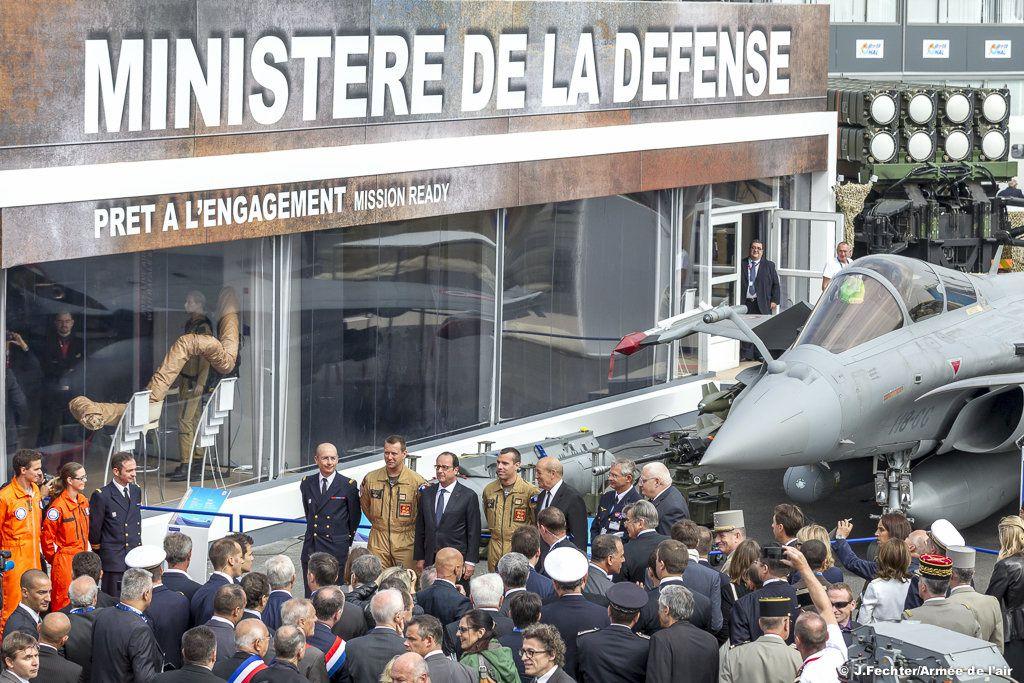 Le Salon du Bourget a ouvert ses portes