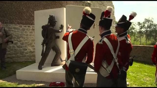 Battle Of Waterloo Memorial Unveiled In Hougoumont