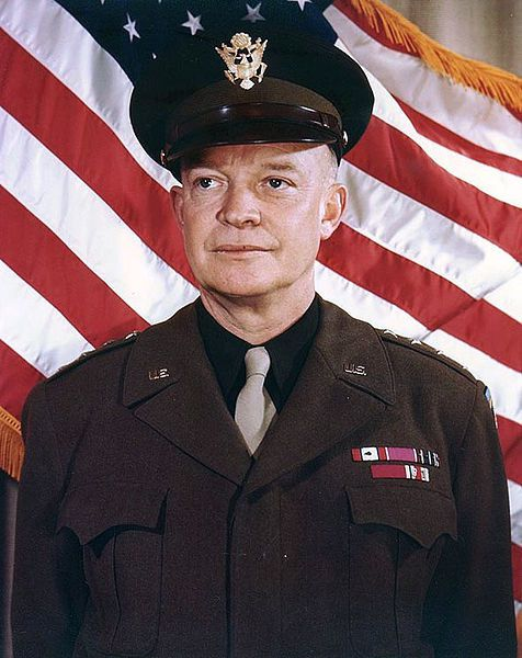 General of the Army Dwight David Eisenhower - photo US Army