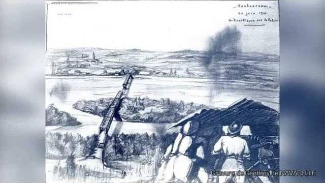 Commémoration des combats des cadets de Saumur