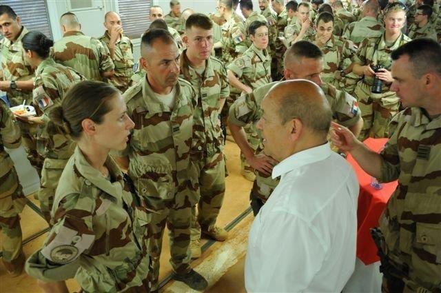 Le ministre de la Défense à Gao (22 Juin)