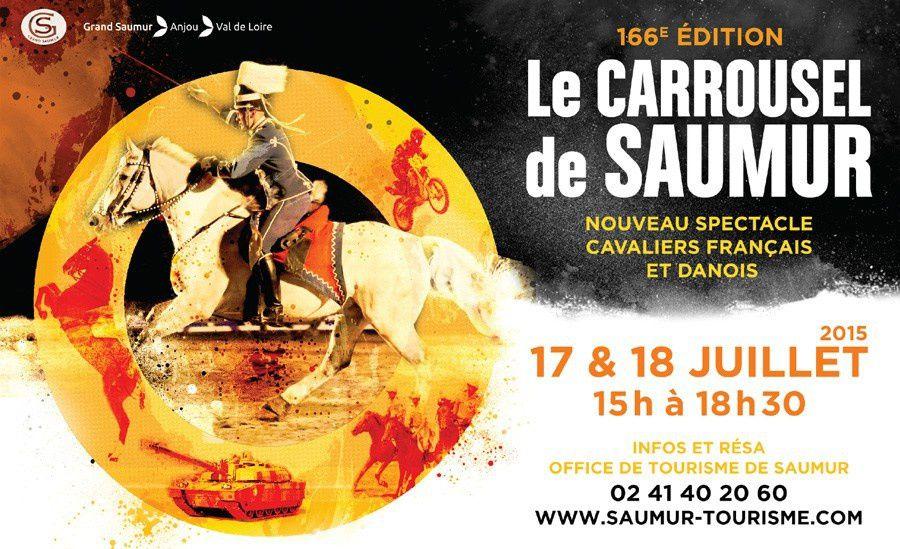 Carrousel de Saumur - 17 et 18 Juillet 2015