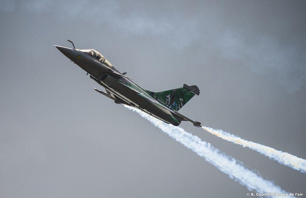 Le Rafale en présentation - photo Armée de l'Air
