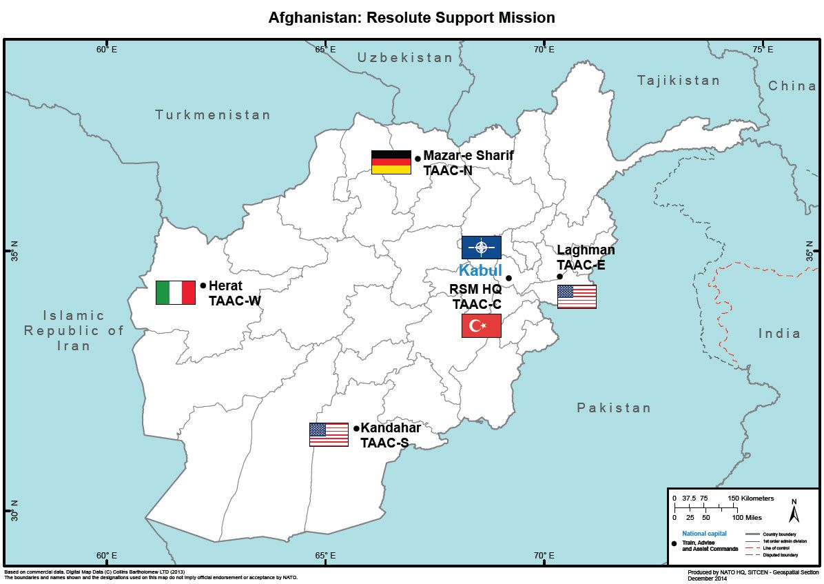 Resolute Support - photo NATO