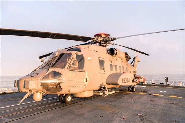 Canada accepts first six Sikorsky CH-148 Cyclones