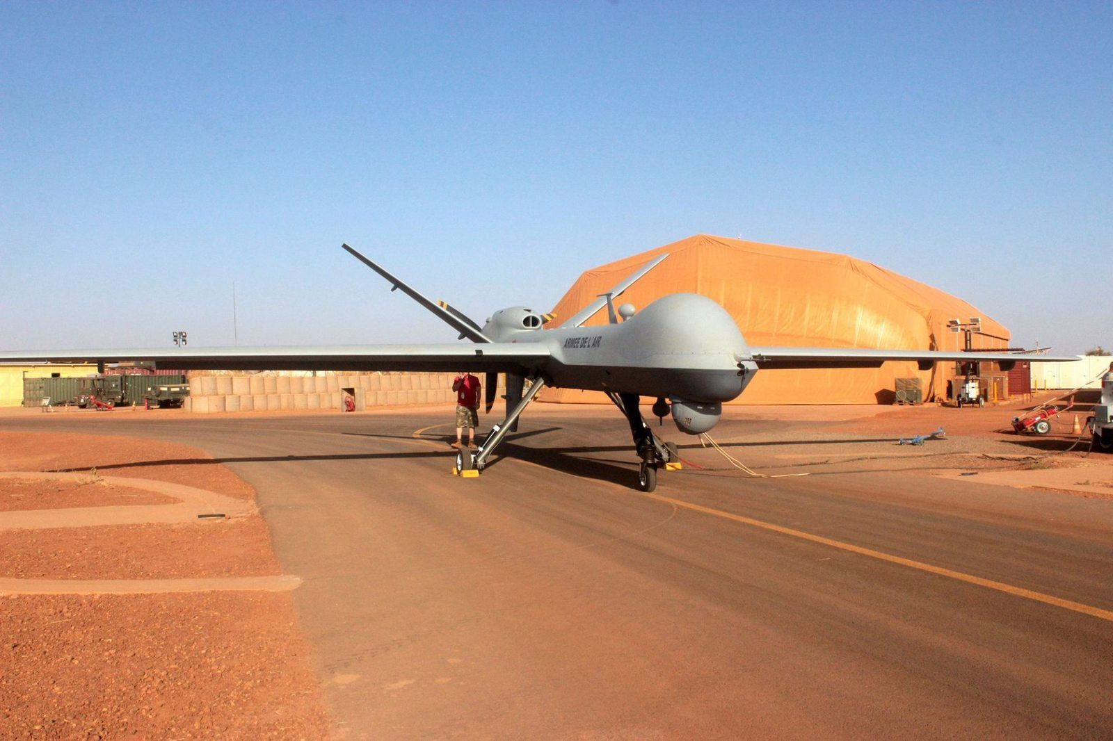 MQ-9 Reaper - photo Armée de l'Air