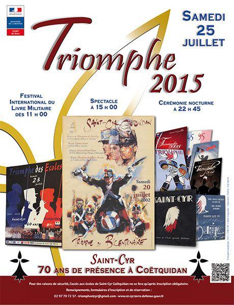 Le Triomphe des écoles de Saint-Cyr Coëtquidan 2015 : tout ce qu'il faut savoir