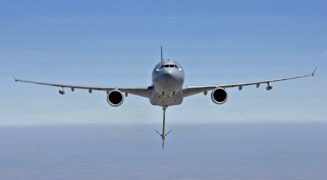 A330 Multi-Role Tanker Transport (MRTT) - photo Airbus DS