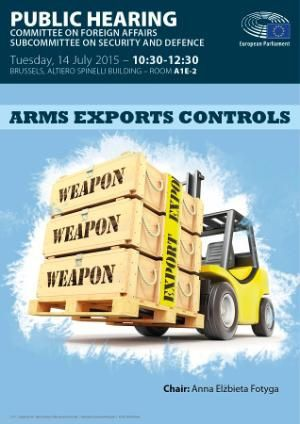 Arms export controls - SEDE