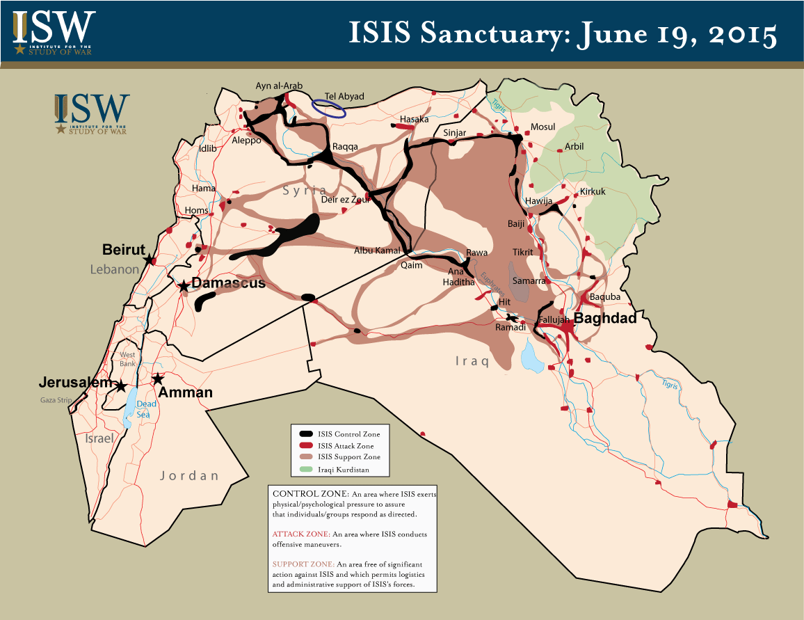 ISIS Sanctuary June 19, 2015 - credits ISW