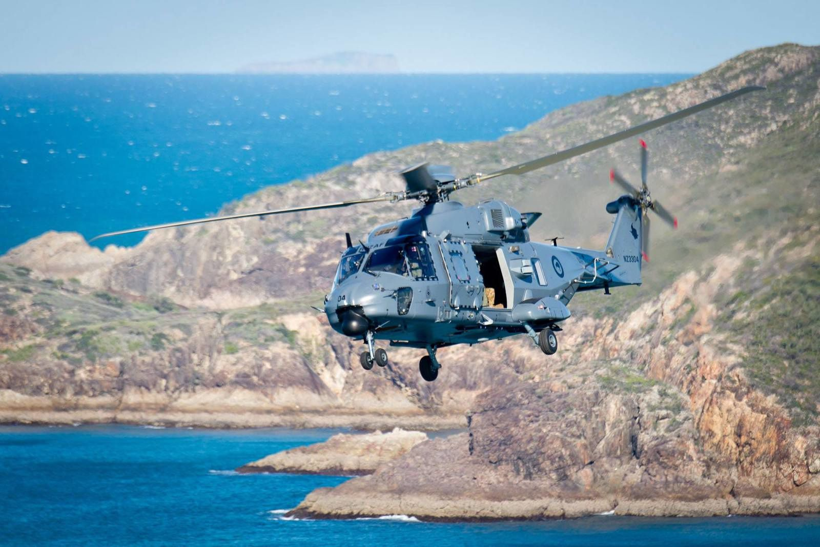RNZAF NH90 on Exercise Talisman Sabre 2015 - photo NZDF
