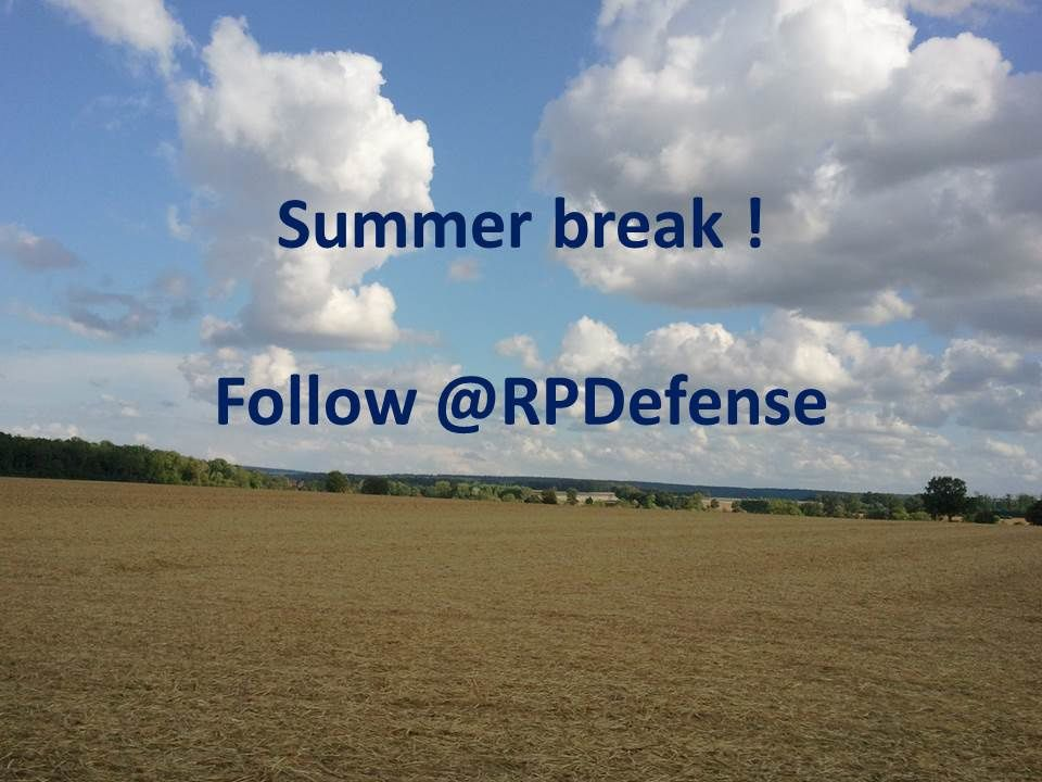 Summer Break - @RPDefense