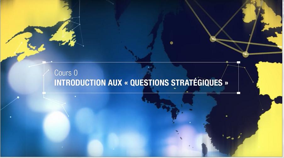 Pour les questions stratégiques… Suivez le MOOC !