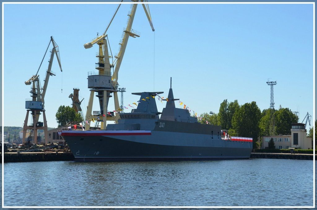 ORP SLAZAK - Gdynia Navy Shipyard photo Jan Szurgot