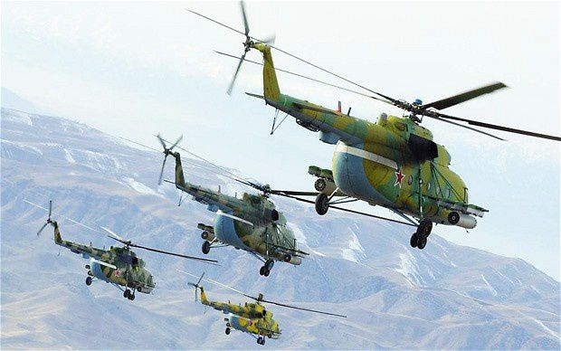 Mi-8 helicopter  Photo Itar-Tass