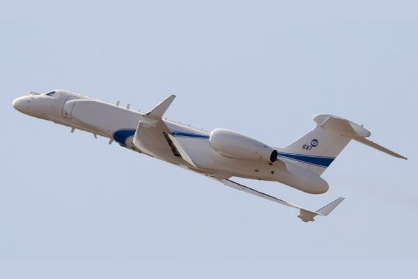 G550 CAEW aircraft Photo Elta Systems, a subsidiary of IAI
