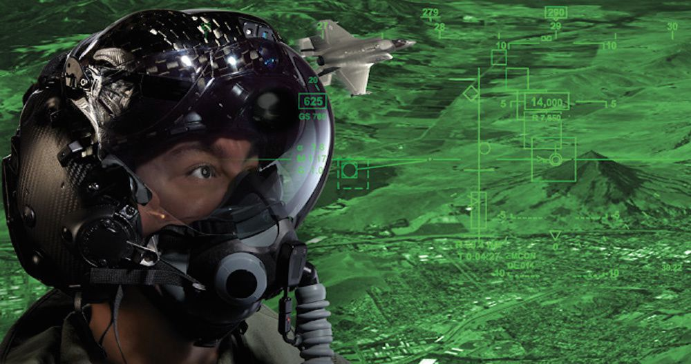 F-35 Gen III Helmet Mounted Display System (HMDS) - Rockwell Collins