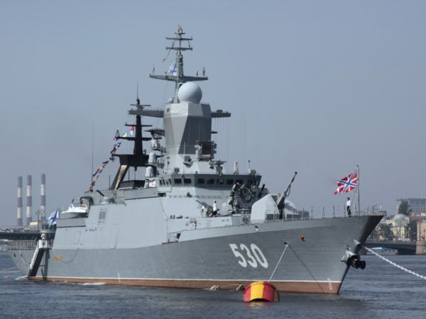 Corvette Steregushchiy (photo  Almaz)