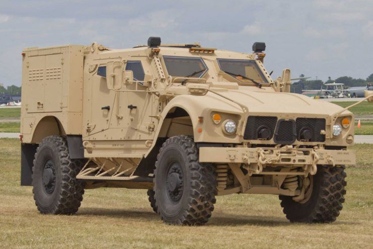 L-ATV JLTV – photo Oshkosh Defense