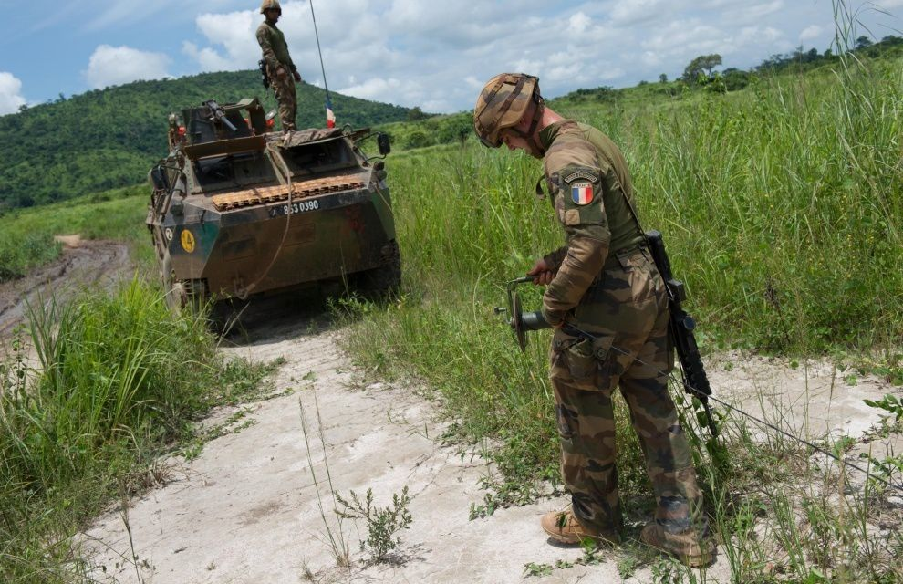 Sangaris : destruction de munitions
