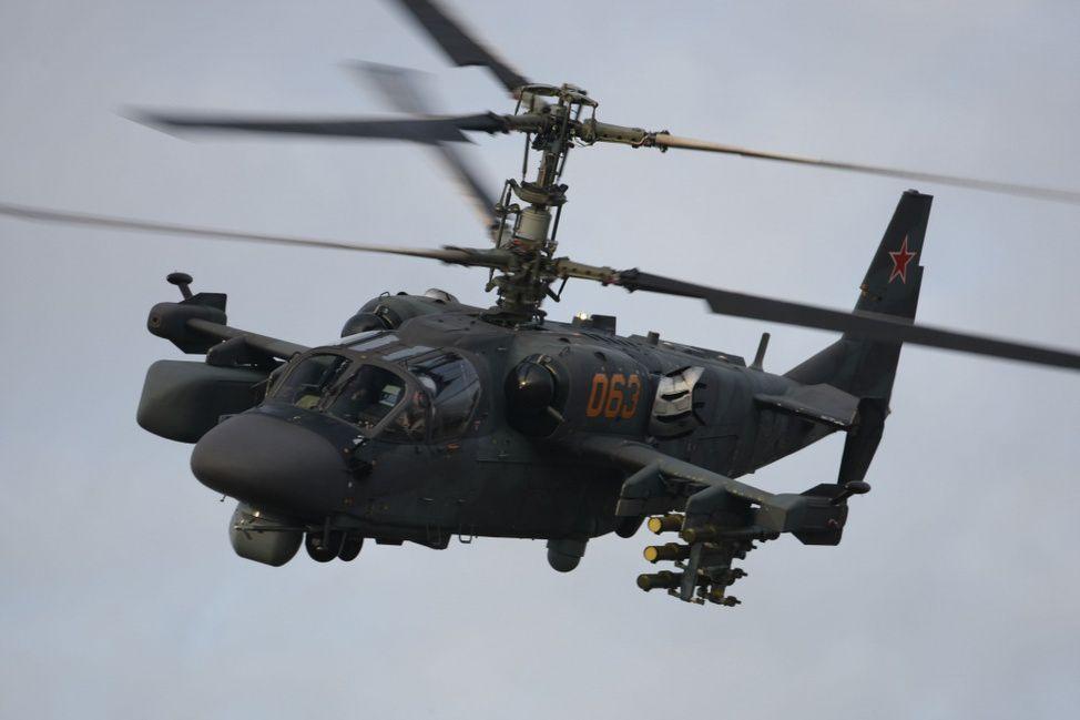 L'hélicoptère russe d'attaque K-52 Alligator de Russian Helicopters. (Russian Helicopters)