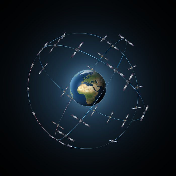 30-satellite Galileo constellation Credits P. Carril - ESA