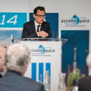 Stéphane Israël, Arianespace's Chairman and CEO