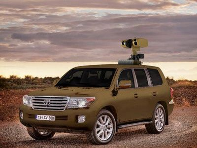 Hawkeye VS Land Cruiser mounted mobile surveillance system - Chess Dynamics