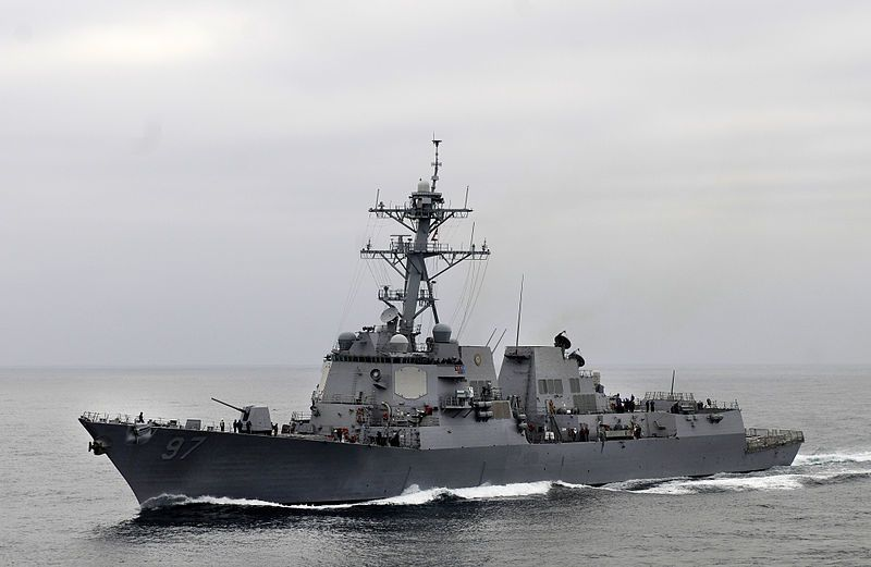 USS Halsey (DDG 97) - photo US Navy