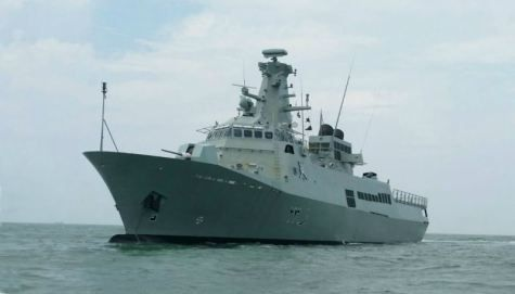 ST Marine delivers second Al-Ofouq-class patrol vessel to Oman Navy