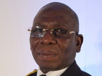 Vice Admiral Matthew Quashie, Chief of Ghana's Defence Staff