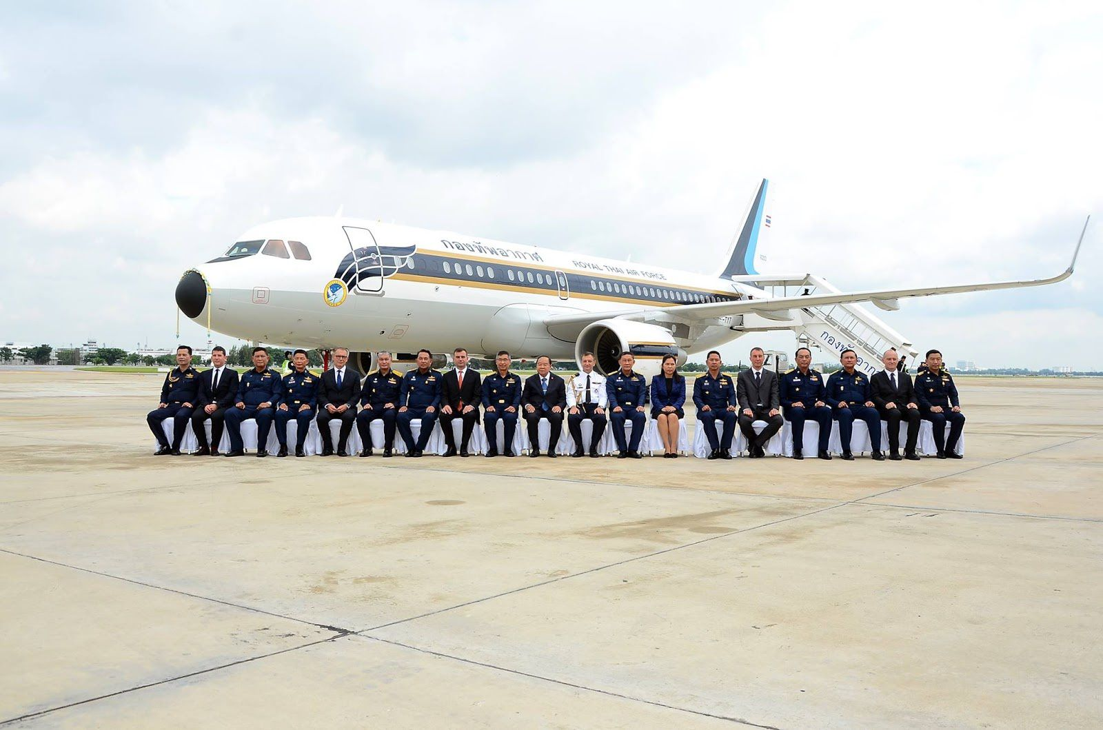 New Airbus ACJ 320 in Commission at Royal Thai Air Force