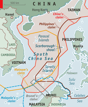 Editorial: Chinese Admiral - South China Sea 'Belongs to China'