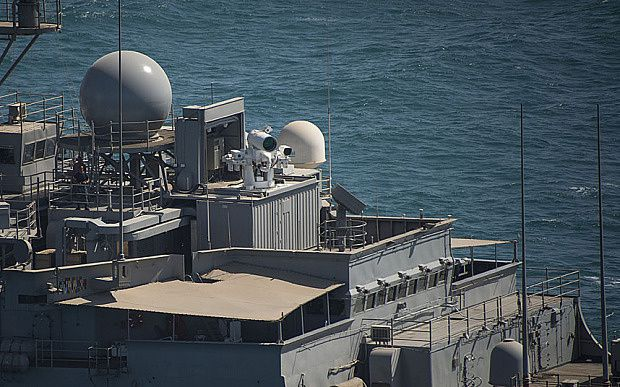 Royal Navy to build laser cannon by end of the decade