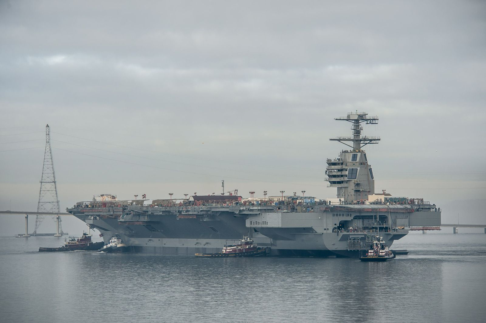 L'US Navy s'inquiète des performances de l'USS Gerald R. Ford